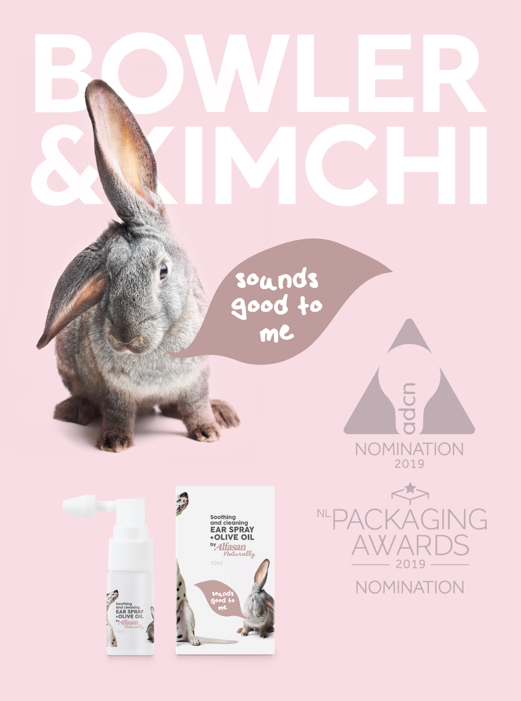 Bowler & Kimchi, Nomination for NL Packaging Awards 2019.